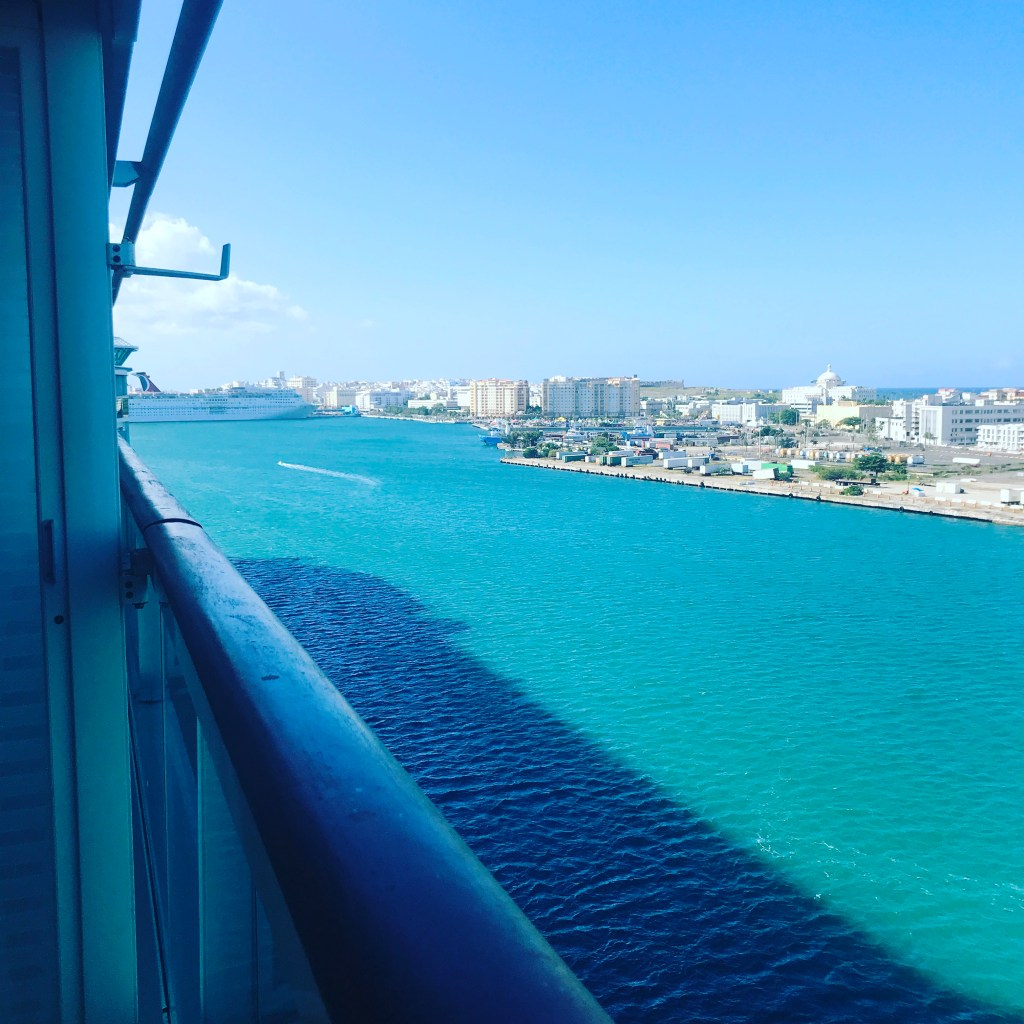 Views from a Cruise Ship