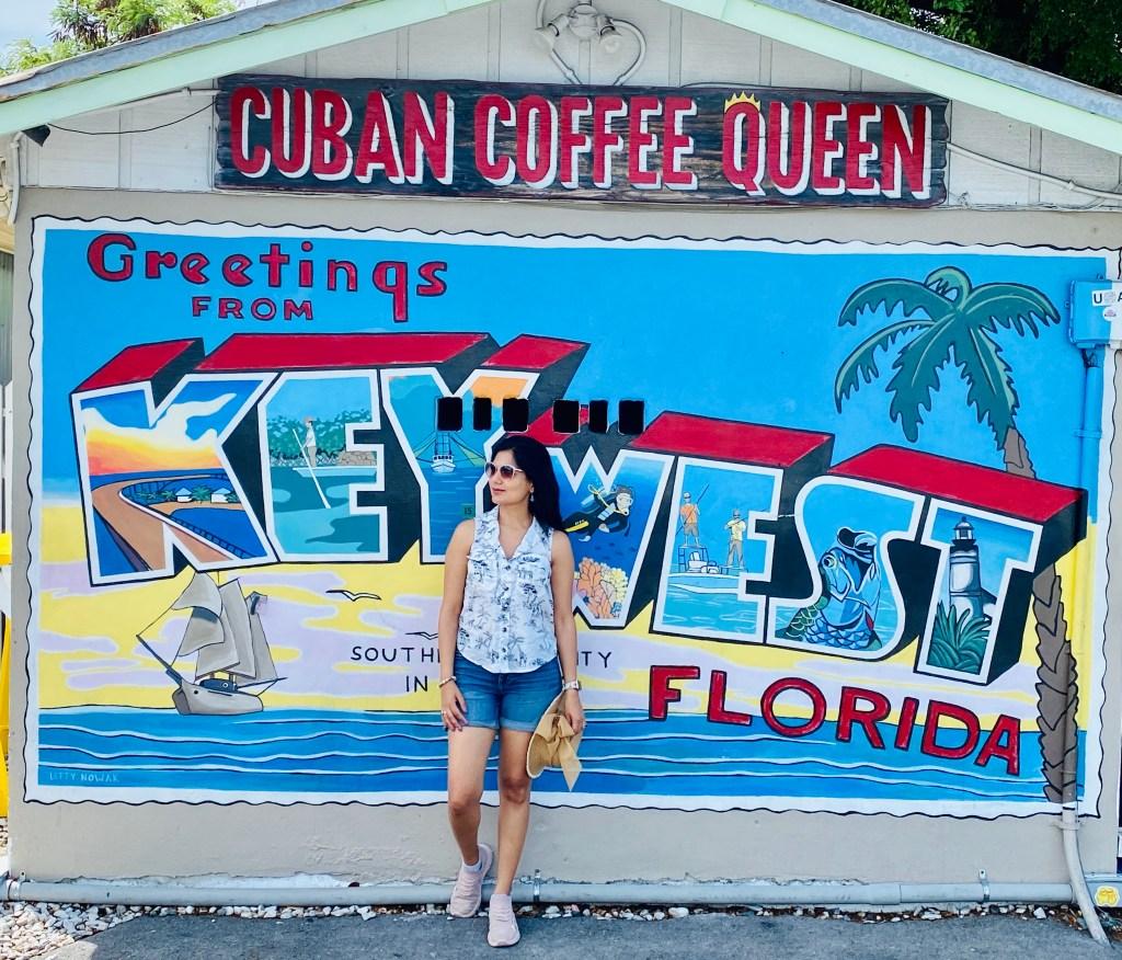 Sucheta Rawal in Key West