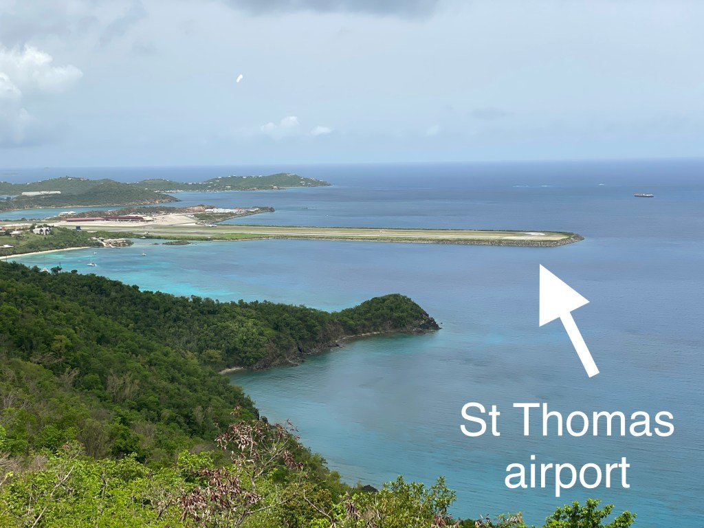St Thomas airport