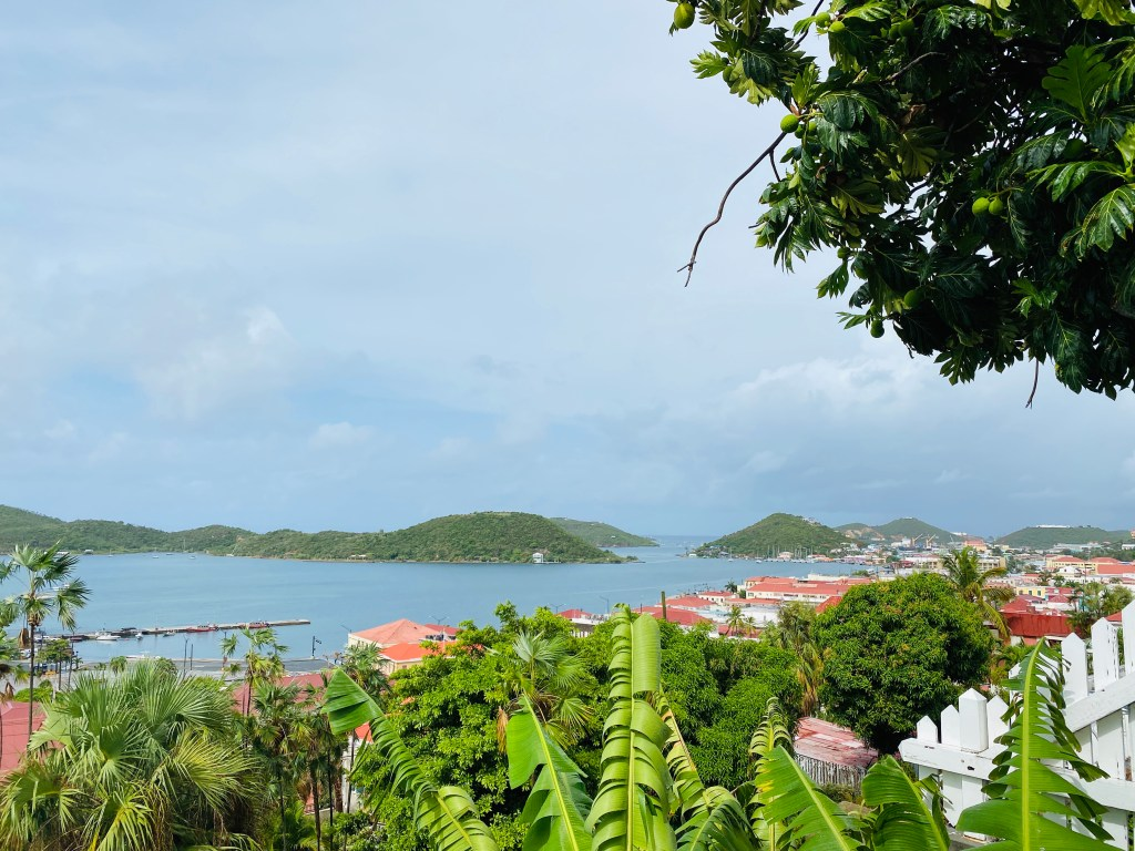 view of St Thomas harbor