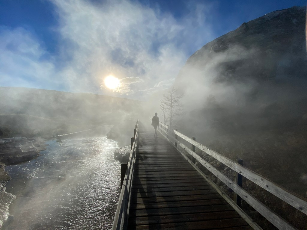 Mammoth Hot Spring Terrace