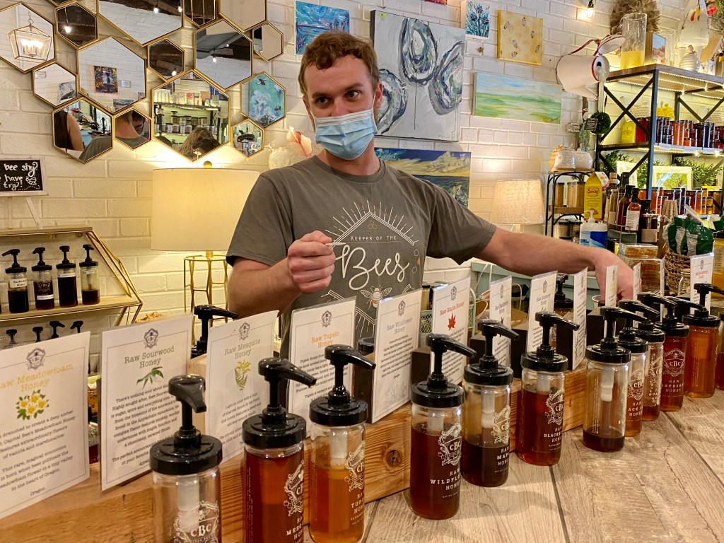 Savannah honey tasting experience