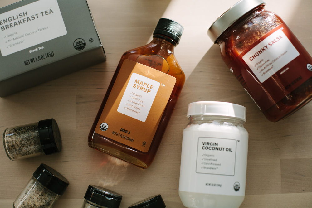 6 Brandless Benefits Or, Why Order from the $3 Online Grocery