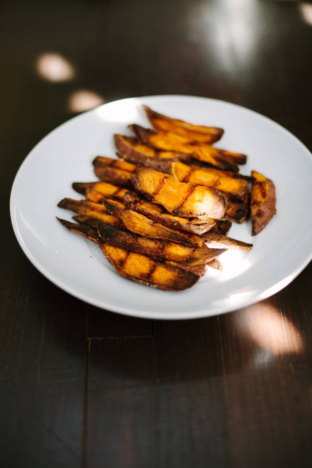 how to bake crispy sweet potato fries / go eat your bread with joy