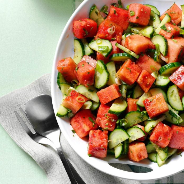 Watermelon recipes for a party from Taste of Home
