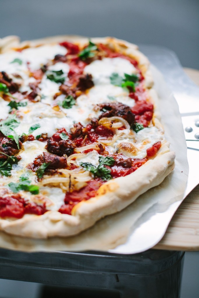 fast homemade pizza
