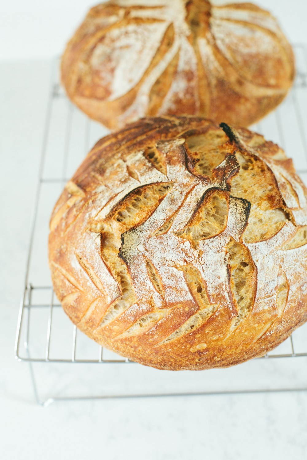 naturally leavened sourdough bread recipe