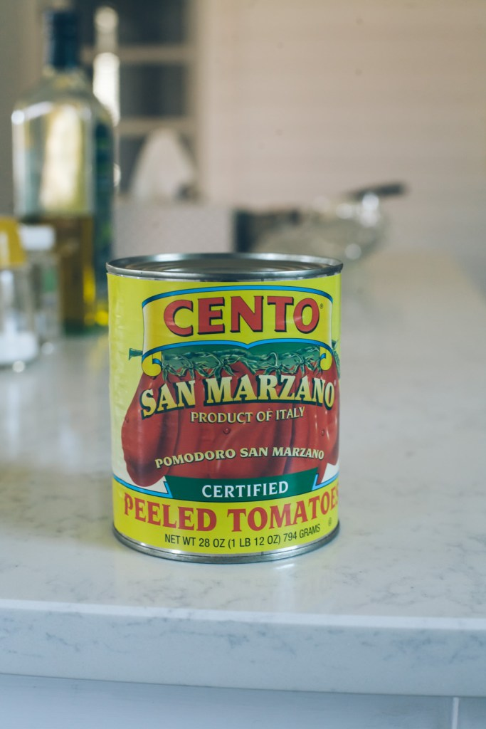 Cento San Marzano tomatoes, used in a side-by-side comparison / Go Eat Your Bread with Joy
