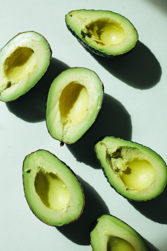 Avocados for an orange avocado chickpea salad dinner / Go Eat Your Bread with Joy