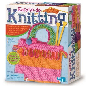 4M Knitting Craft Kit