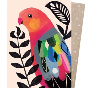 Earth Greetings King Parrot