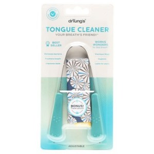 Dr Tung's Stainless Steel Tongue Cleaner