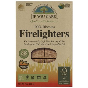 If You Care 100% Biomass Firelighters 28pk