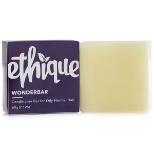 Ethique Conditioner Bar Wonderbar, Oily to Normal Hair 60g