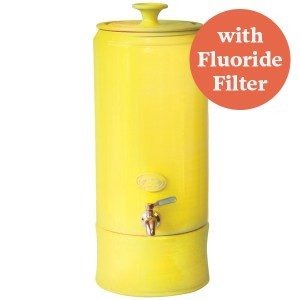 SCP Ceramic Water Purifier Fluoride 10L Lemon
