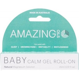 Amazing Oils Baby Calm Gel Roll-On, 20mL