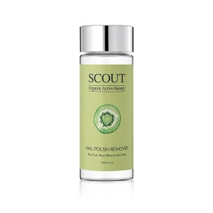 Scout Cosmetics Nail Polish Remover, 125mL