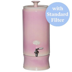 SCP Ceramic Water Purifier Standard 10L Dusty Rose