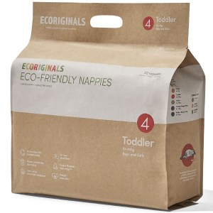 Ecoriginals Eco Friendly Disposable Nappies Toddler