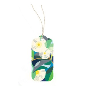 Earth Greetings Lemon Scented Gum Gift Tag