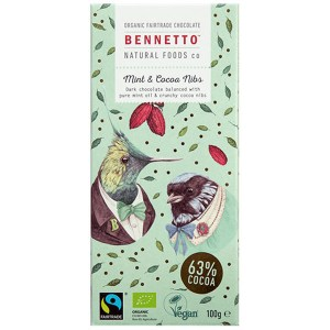 Bennetto Vegan Chocolate Mint Dark Chocolate