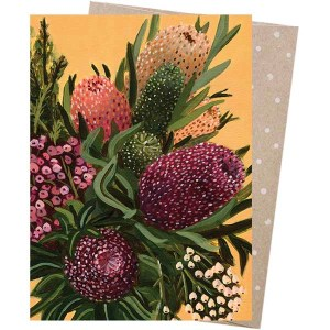 Earth Greetings Card Flower Explosion