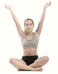 Yoga exercise for more energy and less stress