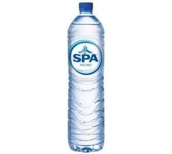 spa blauw 1,5 L fles