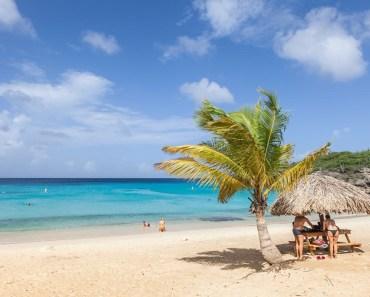 Parelwitte stranden Curacao