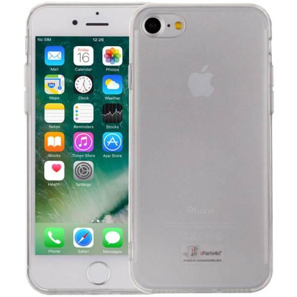 Flexibel iPhone 8/7 Siliconen Hoesje Transparant