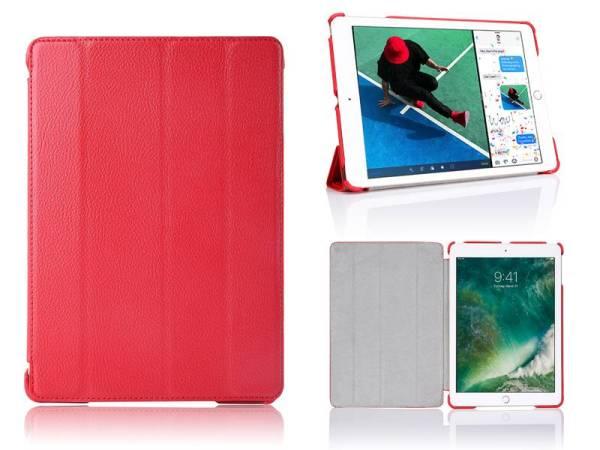 iPad Pro Hoes 10.5 inch Smart Case Kunstleder Rood