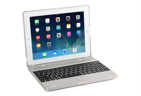 Toetsenbord met USB en Cover voor iPad 2/3/4