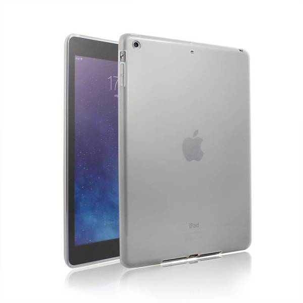 iPad Air Siliconen Gel Hoes Wit