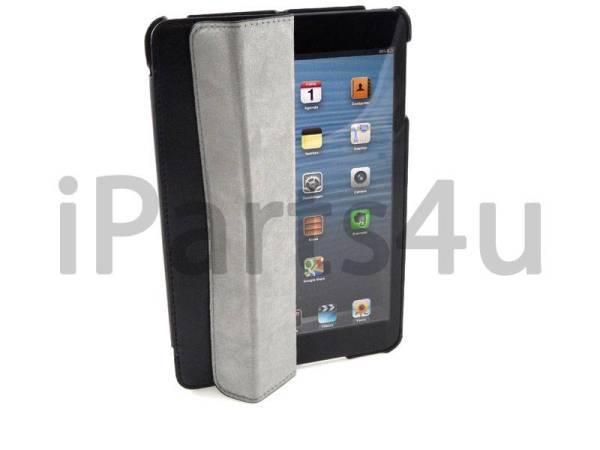 Smartcase iPad Mini Zwart Leer