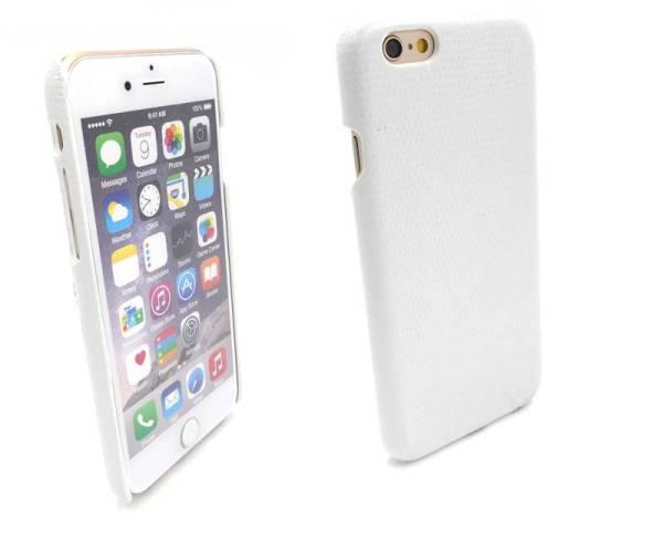 Slang Hardcover Snap Case iPhone 6 en 6S Wit
