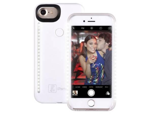 Elegant Selfie Hoesje iPhone 8/7/6S/6 Wit