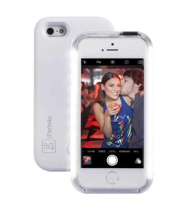 Selfie Hoesje iPhone SE/5S/5 Wit