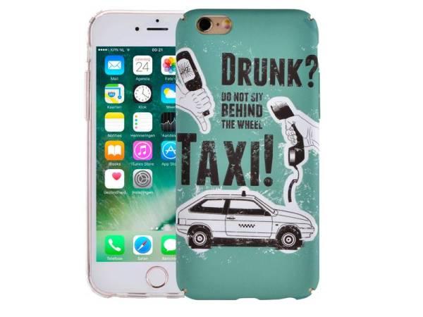 iPhone 6/6S Hoesje Vintage Look Taxi