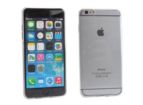 Siliconen Gel TPU iPhone 6 Plus Hoesje Transparant