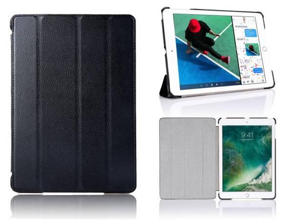 iPad Pro Hoes 10.5 inch Smart Case Kunstleder Zwart