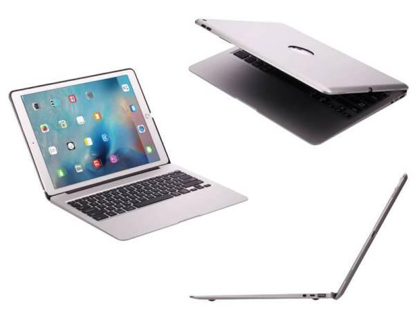 Aluminium Toetsenbord Hoes iPad Pro 12.9 Inch Zilver Executive