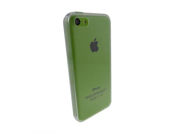Siliconen Gel TPU iPhone 5C hoesje Transparant