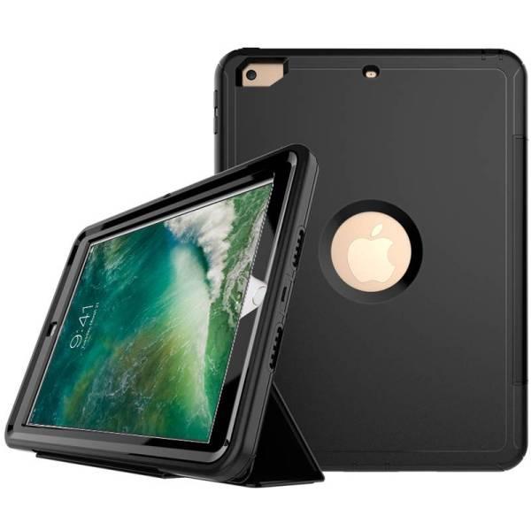 iPad 2017 / iPad Air Shockproof Hoes Schokbestendig Smart Case Zwart