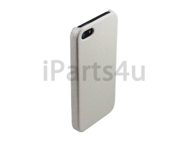 iPhone 5/5S Hardcover Case Slangenprint  Wit