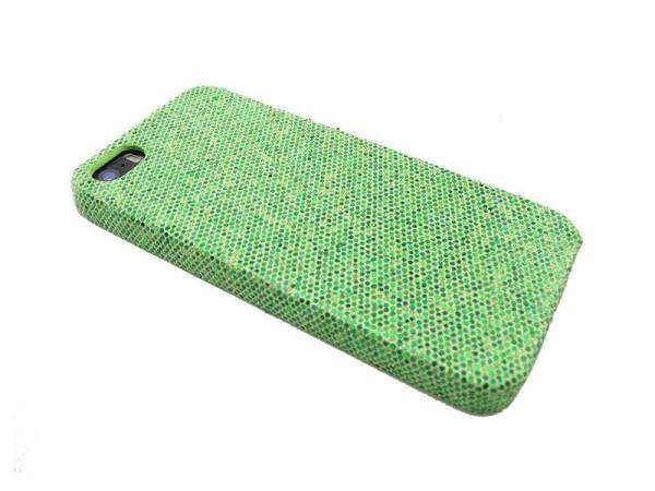 Glitter case iPhone 5&5S groen