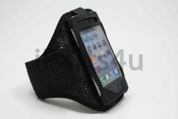 Sport Armband iPhone 4S&iPhone 4 zwart