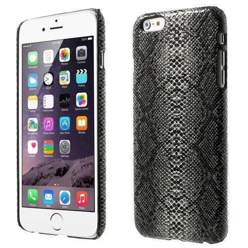 iPhone 6 en 6S Hardcase Hoesje Slangenprint zwart