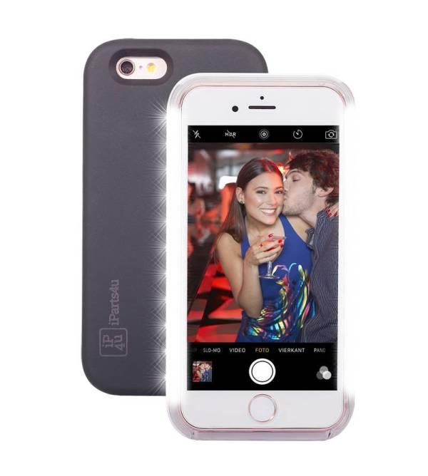 Superhandig Selfie Hoesje iPhone 6/6S Zwart