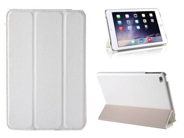 iPad Mini 4 Smart Case Hoes Leder Wit