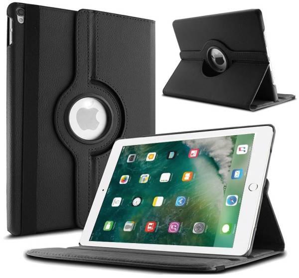 iPad Pro Hoes 10.5 inch Leder Draaibaar 360 Graden Zwart